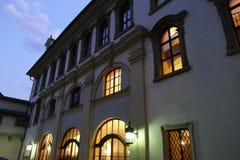 Palazzo storico del valdstejn a Praga Fotografia Stock Libera da Diritti