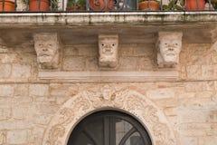 Palazzo storico Delle Fonti di Acquaviva La Puglia L'Italia Fotografie Stock