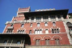 Palazzo storico di Cova, Milano Immagini Stock