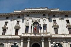 Palazzo storico di Ferrara. L'Italia. Immagini Stock Libere da Diritti