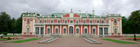 Palazzo storico di Kadriorg Immagini Stock Libere da Diritti