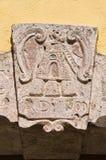 Palazzo storico. Di Puglia di Sant'Agata. L'Italia. Fotografie Stock Libere da Diritti