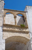 Palazzo storico Laterza La Puglia L'Italia Fotografie Stock