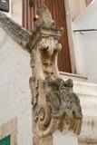 Palazzo storico Locorotondo La Puglia L'Italia Immagine Stock