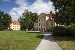 Palazzo storico in Lomnica Fotografie Stock