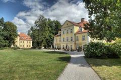 Palazzo storico in Lomnica, Polonia Immagine Stock
