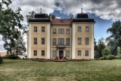 Palazzo storico in Lomnica, Polonia Fotografia Stock