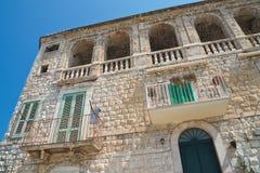 Palazzo storico Molfetta La Puglia L'Italia Fotografia Stock Libera da Diritti