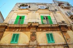 Palazzo storico Molfetta La Puglia L'Italia Fotografia Stock