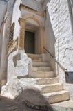 Palazzo storico. Ostuni. La Puglia. L'Italia. Fotografia Stock