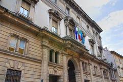 Palazzo storico Piacenza L'Emilia Romagna L'Italia Fotografia Stock