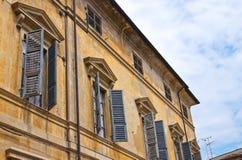 Palazzo storico Piacenza L'Emilia Romagna L'Italia Immagini Stock