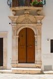 Palazzo storico Putignano La Puglia L'Italia Fotografie Stock