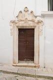 Palazzo storico Putignano La Puglia L'Italia Immagine Stock