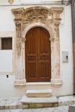 Palazzo storico Putignano La Puglia L'Italia Immagini Stock