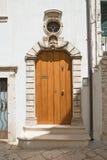 Palazzo storico Putignano La Puglia L'Italia Fotografia Stock Libera da Diritti