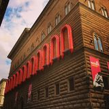 Palazzo Strozzi 库存照片