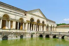 Palazzo Te在曼托瓦,意大利 免版税库存照片