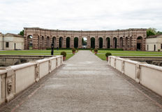 Palazzo Te dans Mantua est une attraction touristique importante Le palais a été construit dans le style architectural de manneri photographie stock