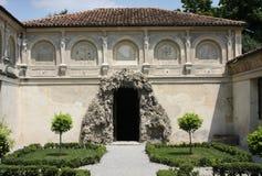 Palazzo Te, Mantova (Italië); de grot Stock Fotografie