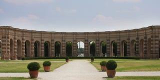 Palazzo Te, Mantova (Italien); das esedra Lizenzfreies Stockbild