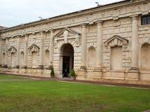 Palazzo Te in Mantua royalty-vrije stock afbeeldingen
