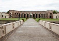 Palazzo Te in Mantua is een belangrijke toeristische attractie Het paleis werd gebouwd in de mannerist architecturale stijl voor  stock fotografie