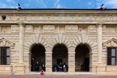 Palazzo Te in Mantua, Italy Royalty Free Stock Image