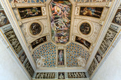 Palazzo Te in Mantua. Is a major tourist attraction. The ceiling frescoes are the most remarkable feature if the palace, built in the mannerist architectural Royalty Free Stock Image