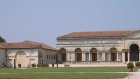 Palazzo Te symetryczna fasada, niecka zbiory