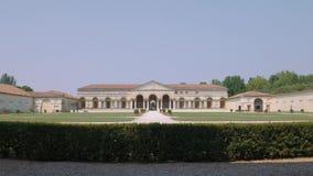 Palazzo Te symetryczna fasada, zawodnik bez szans zbiory wideo