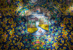 Palazzo a Teheran Immagine Stock