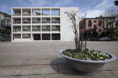 Palazzo Terragni Fotografía de archivo libre de regalías