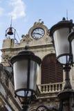 Palazzo Tezzano in Catania, Italy Royalty Free Stock Photography