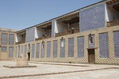 Palazzo Toshxovli, Khiva, l'Uzbekistan Fotografia Stock