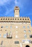 Palazzo Vecchio佛罗伦萨或佛罗伦萨市托斯卡纳意大利城镇厅  库存图片