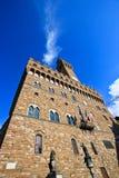 Palazzo Vecchio外部  免版税图库摄影