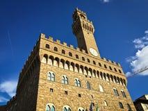 Palazzo Vecchio外部  免版税库存图片