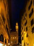 Palazzo Vecchio是佛罗伦萨,意大利城镇厅  免版税库存图片