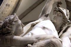 Palazzo Vecchio雕象佛罗伦萨意大利 库存照片