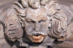 Palazzo Vecchio雕象佛罗伦萨意大利 库存图片