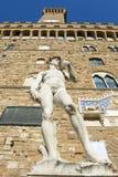 Palazzo Vecchio,佛罗伦萨城镇厅意大利的 库存照片