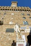 Palazzo Vecchio,佛罗伦萨城镇厅意大利的 免版税库存图片