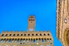 Palazzo Vecchio à Florence, Italie photographie stock libre de droits