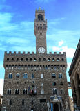 Palazzo Vecchio или della Signoria в Флоренсе, Италии Стоковое фото RF