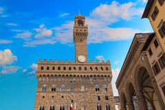 Palazzo Vecchio или della Signoria в Флоренсе, Италии Стоковые Фото