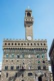 Palazzo Vecchio (старый дворец), Флоренс, Италия Стоковое Изображение