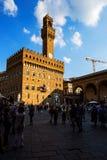 Palazzo Vecchio, старый дворец, Флоренс Стоковые Фото