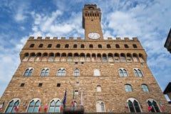 Palazzo Vecchio, Флоренс, Италия Стоковое Изображение RF