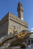 Palazzo Vecchio -佛罗伦萨-意大利 库存图片
